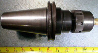"BIG CV50-GMC.750-4 CAT50 3/4"" DIA COLLET CHUCK END MILL HOLDER 4-1/8"" Projection"