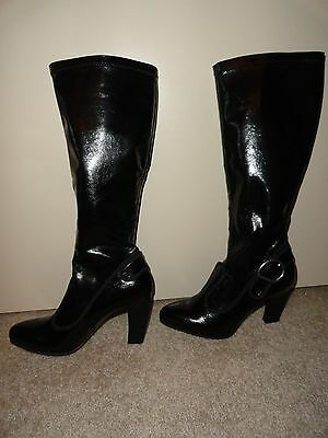 f54900522f6 FRANCO SARTO Artist s Collection Black Knee-High BOOTS Sz 7~NEW! Nordstrom  Rack