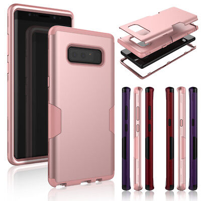 Hybrid Armor Full Body Extreme Protective Case Cover for iPhone Samsung Galaxy