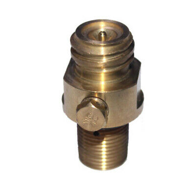 1 Pcs For CO2 Tank Brass Sodastream Pin M18x1.5 Thread High Pressure Gas Valve