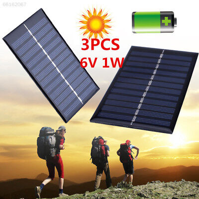 0F45 7634 AEB1 1W 6V Solar Power Panel Solar System DIY for Cell Phone Chargers