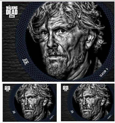 3x SERPENTINE BLUE JOE WAVE 2 Topps Walking Dead Digital Card Trader