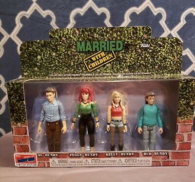 Married With Children Action Figures 2018 NYCC Exclusive Funko