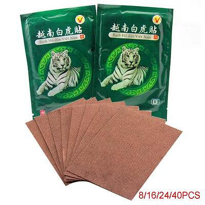 40pc Vietnam Tiger Balm Plaster Creams Pain Relief Patch Body Muscle Massager PK