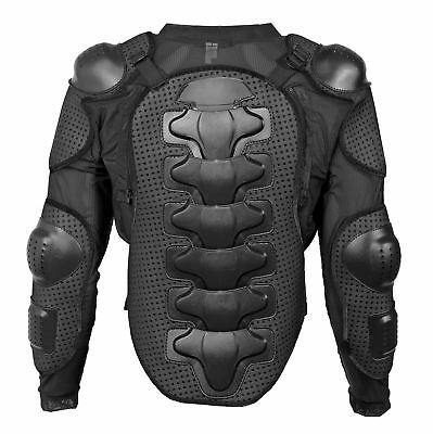 Fincci Motorcycle Motocross Motorbike Bike Full Body Armour Protection Jacket
