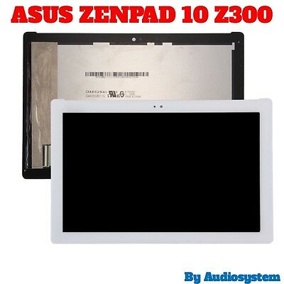 Display+Touch Screen Asus Zenpad 10 Z300M Z300Cg P00C P023 P021 Vetro Bianco
