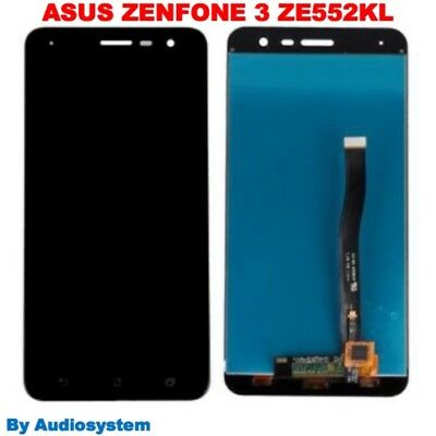 P1 DISPLAY LCD+ TOUCH SCREEN per ASUS ZENFONE 3 ZE552KL NERO VETRO Z012S Z012DE