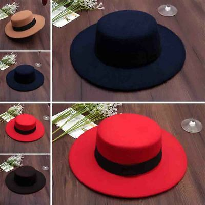 deb0468d197fc4 Wide Brim Vintage Wool Felt Hats Women Fedora Men Hat Jazz Hats Sombrero 4  Color