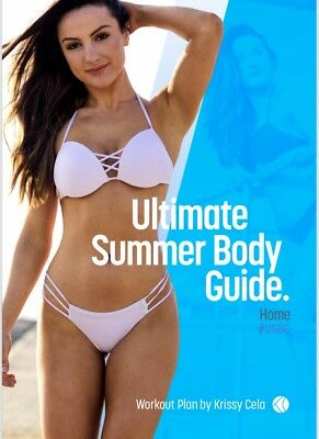Krissy Cela Same Day Delivery 12 Week Ultimate Summer Body Guide - Home Edition