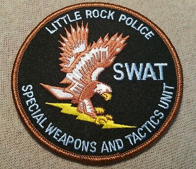 AR Little Rock Arkansas SWAT Police Patch
