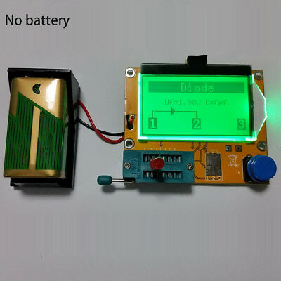 MOSFET Imaging LCD Transistor Tester ESR Capacitor Multifunctional For LCR-T4