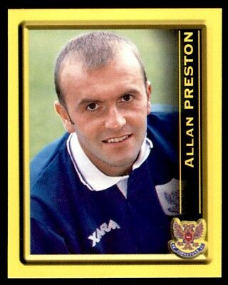 Panini Scottish Premier League 2000 Allan Preston St. Johnstone No. 399