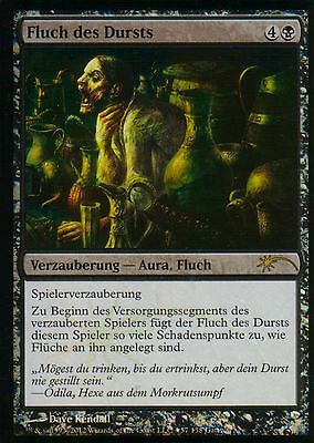 Fluch des Dursts FOIL / Curse of Thirst | NM | GW-Promo | GER | Magic MTG