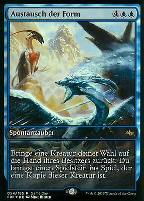 Austausch der Form FOIL / Supplant Form | NM | Game Day Promos | GER | Magic MTG