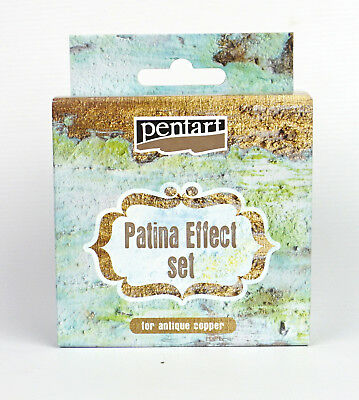 Pentart Patina Effect Complete set for Antique Copper