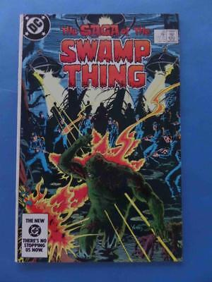 Swamp Thing 20 Loose Ends Classic 1St Alan Moore! High Grade! Vf
