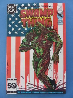 Swamp Thing 44 Classic Alan Moore Vf+