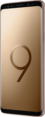 """Samsung Galaxy S9 DualSim gold 64GB LTE Android Smartphone 5,8"""" Display 12MPX"""