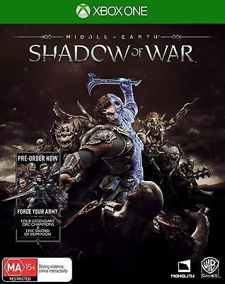 Middle Earth: Shadow Of War (XBOX ONE) NEW Free Post CHEAPEST