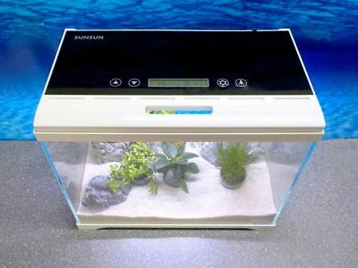 Aquaristikwelt24 AT-420 A Nano Aquarium Touch Display Filteranlage Beleuchtung