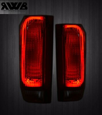 [SMOKED][LED] 1987-1996 Ford Bronco F150 F250 F350 Tail Lights