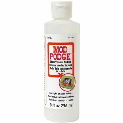 Mod Podge 8 Oz Photo Transfer Medium - BEST VALUE IN EUROPE - FASTEST POSTAGE