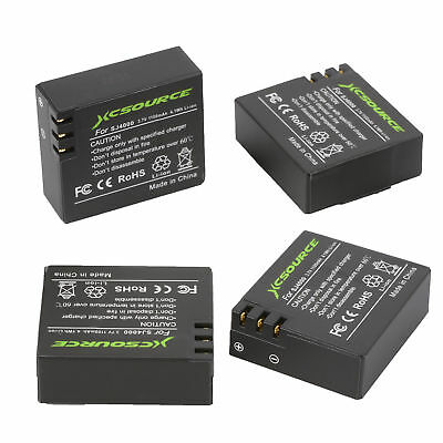 4pcs 1100mAh Battery + Dual Charger Kit for SJ4000 Action Sport Camera New OS480