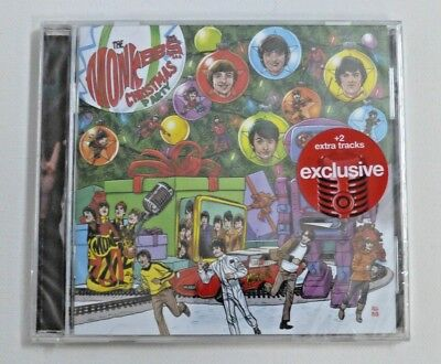 The Monkees Christmas Party Music CD Album Target Exclusive +2 Extra Tracks