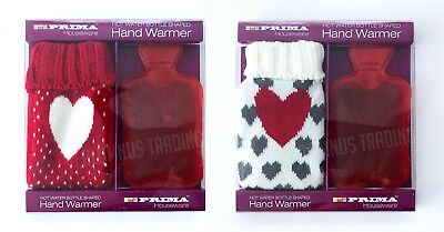 Love Heart Gift Valentines Hot Water Bottle Instant Hand Warmer Travel Heat Pack