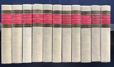 Lot of 11 Vintage Classic Club Books Good for Decor and Reading! FREE Shipping!
