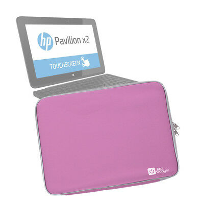 Stylish Neoprene Laptop Sleeve Case for HP Pavilion x2 11 in Pretty Pink