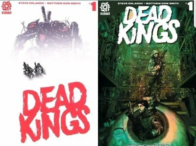 DEAD KINGS #1 A & B VARIANT (1st PRINT) AFTERSHOCK SOLD OUT! 2018 NM- NM