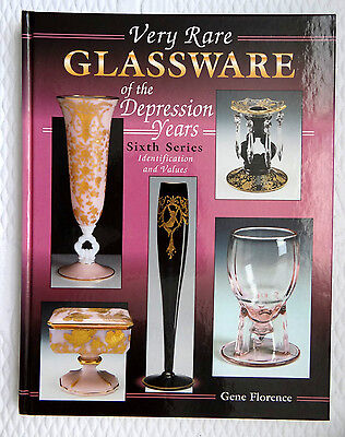 Very Rare Glassware Depression Years Sixth Series Identification & Values 1999
