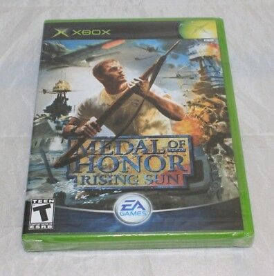 Medal of Honor: Rising Sun (Microsoft Xbox, 2003) Brand New Factory Sealed