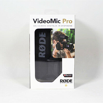 Rode Microphone VideoMIC Pro Compact Shotgun Rycote shockmout for canon nikon
