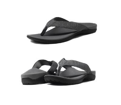 AXIGN Orthotic Arch Support Thongs Flip Flops Sandals with Strap Size 6-12