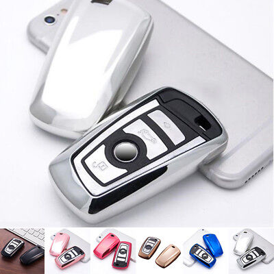 For Bmw 1 2 3 4 5 6 Series TPU Remote Key Cover Protective Case Trim Practical