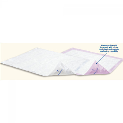 Attends Supersorb Breathables Underpad 30 x 36 Inch #ASB-3036 - Case of 60