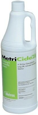 MetriCide High-Level Disinfectant, 1 Quart, 28 Day Reuse, GREAT VALUE! 8 Pack