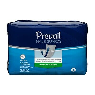 Prevail Male Guards with Adhesive Strip 13 Inch-Bag of 14  10 PACK