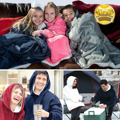 BLANKET SWEATSHIRT FOR Adults&Children Oversized Hoodie Supply-FREE SHIPPING