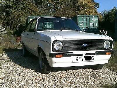 Ford Escort MK2 1.6 2dr LHD. Amazing original condition shell