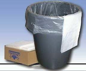 Trash Bag ''Clear, 17 x 17 , 4 gallon, 1000 Count, Refuse Grade, 0.35 mil.'' NEW