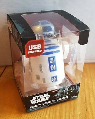 Star Wars R2 D2 Desktop Droid Usb Desk Vacuum Cleaner Hoover Novelty