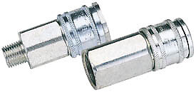 Draper 54407 Bulk Euro Coupling Female Thread 1/4 BSP Parallel (Sold Loose)