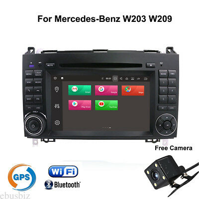 """For Mercedes Benz W203 W209 Android 7.1 Car DVD Stereo Player Radio GPS Navi 7"""""""