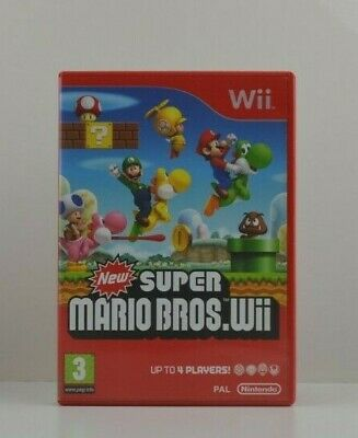 Wii - New Super Mario Bros - Boxed With Manual