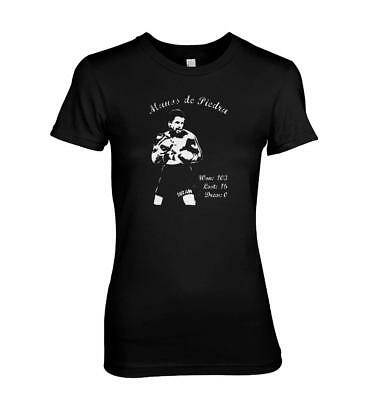 Roberto Duran - Boxing legend T-shirt ladies all sizes