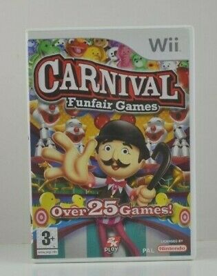 Wii - Carnival Funfair Games - Boxed