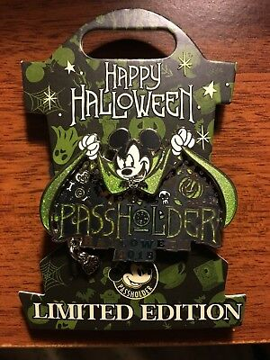Disneyland Mickey's Halloween Party 2018 ANNUAL PASSHOLDER EXCLUSIVE LE4000